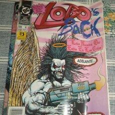 Cómics: LOBO BACK N.º 4 DE 4 ED. ZINCO DC. Lote 153503898