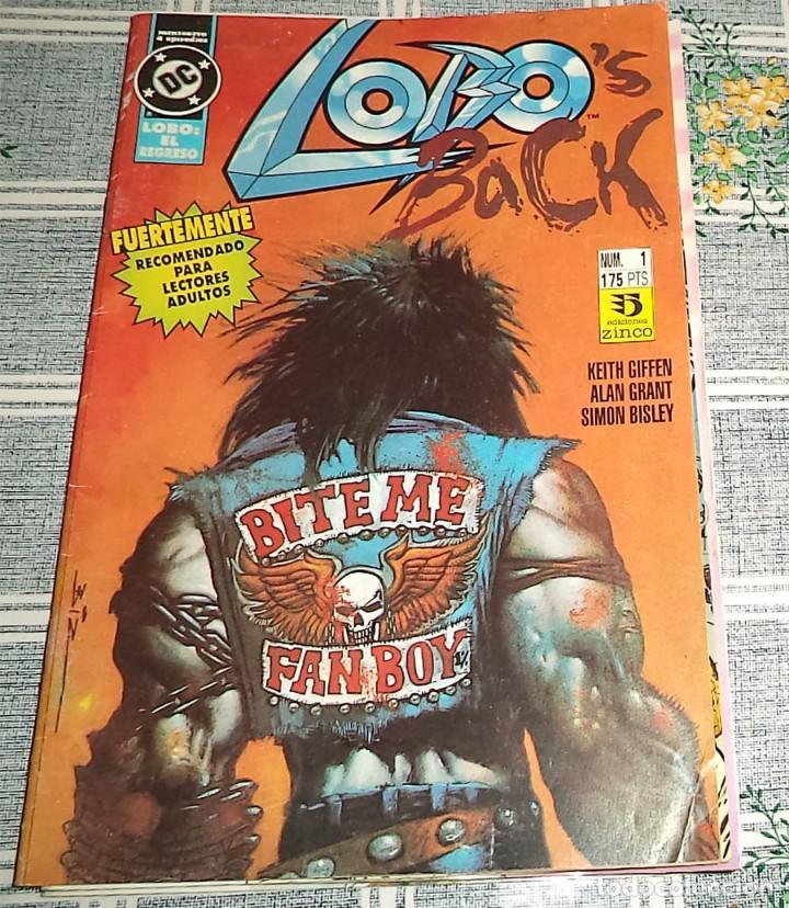 LOBO BACK N.º 1 DE 4 ED. ZINCO DC (Tebeos y Comics - Zinco - Lobo)