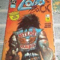 Cómics: LOBO BACK N.º 1 DE 4 ED. ZINCO DC. Lote 153503958