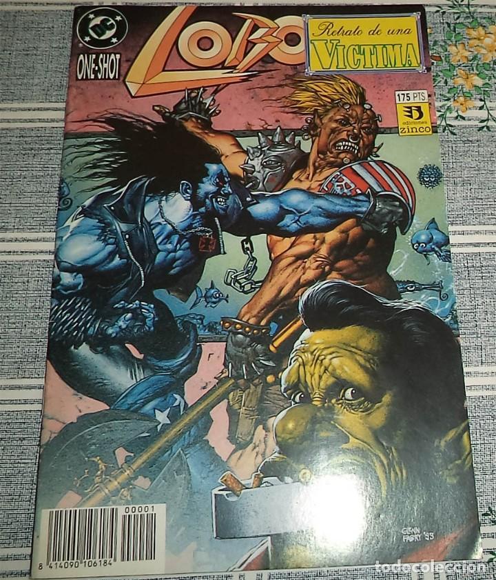 LOBO RETRATO DE UNA VICTIMA ED. ZINCO DC (Tebeos y Comics - Zinco - Lobo)