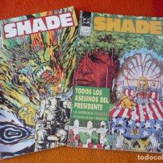 Cómics: SHADE NºS 1 Y 2 ( PETER MILLIGAN Y BACHALO ) ZINCO ¡MUY BUEN ESTADO! DC VERTIGO . Lote 153828466