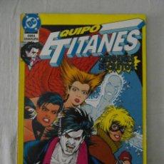 Cómics: EQUIPO TITANES ORIGENES SECRETOS. ZINCO DC COMICS. PERFECTO ESTADO. Lote 153870190