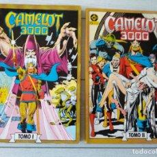 Cómics: CAMELOT 3000, EDICIONES ZINCO, COMPLETA, BUEN ESTADO, 2 TOMOS ,1983. Lote 154011902