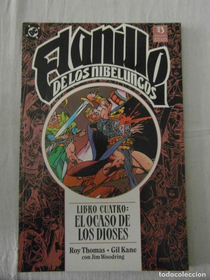 EL ANILLO DE LOS NIBELUNGOS. LIBRO CUARTO. EL OCASO DE LOS DIOSES. ZINCO (Tebeos y Comics - Zinco - Otros)