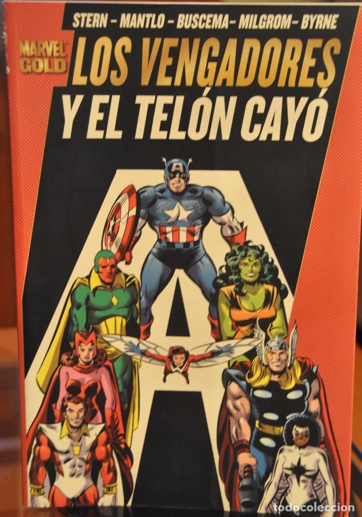 LOS VENGADORES Y EL TELON CAYO (Comics und Tebeos - Zinco - Lobo)