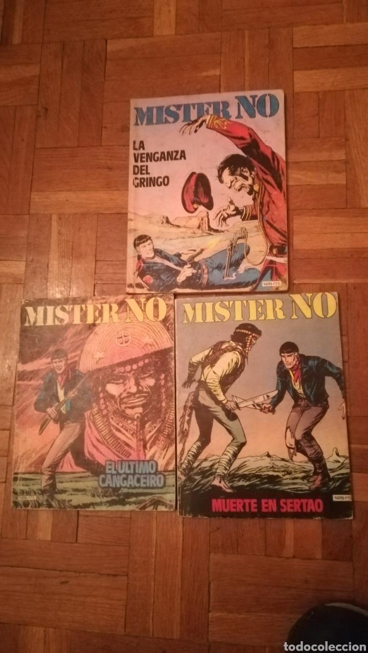 3 COMIC DE MISTER NO, DE 1972 (Tebeos y Comics - Zinco - Otros)