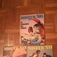 Cómics: 3 COMIC DE MISTER NO, DE 1972. Lote 154553189