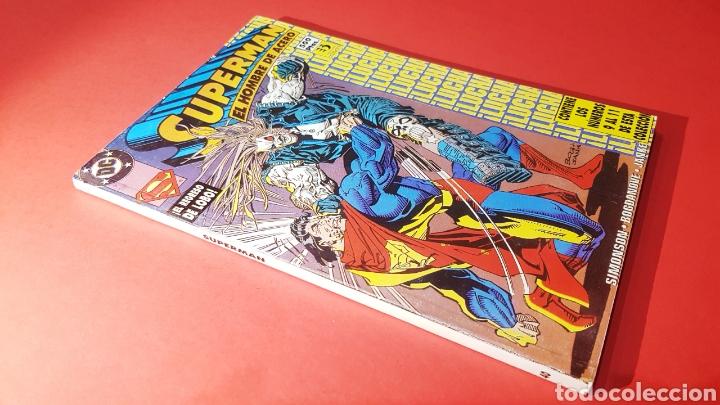 EXCELENTE ESTADO SUPERMAN 40 RETAPADO 9 AL 11 ZINCO DC COMICS (Tebeos y Comics - Zinco - Superman)