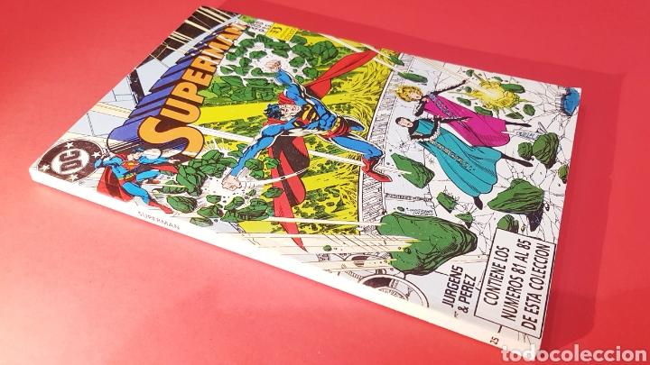 EXCELENTE ESTADO SUPERMAN 25 RETAPADO 81 AL 85 ZINCO DC COMICS (Tebeos y Comics - Zinco - Superman)