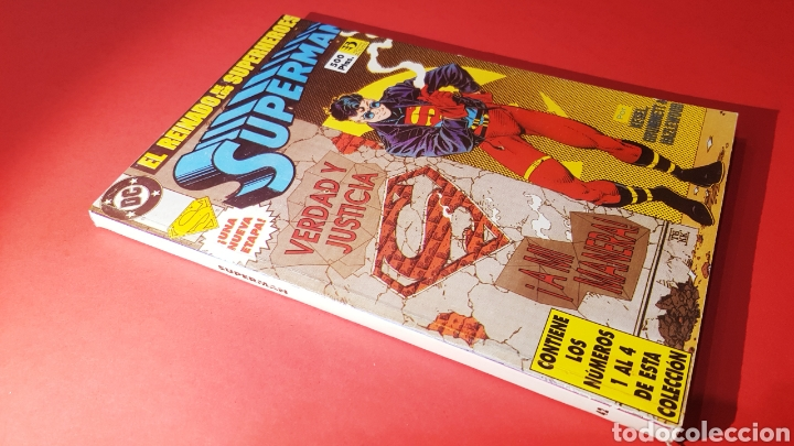 EXCELENTE ESTADO SUPERMAN 42 RETAPADO 1 AL 4 ZINCO DC COMICS (Tebeos y Comics - Zinco - Superman)