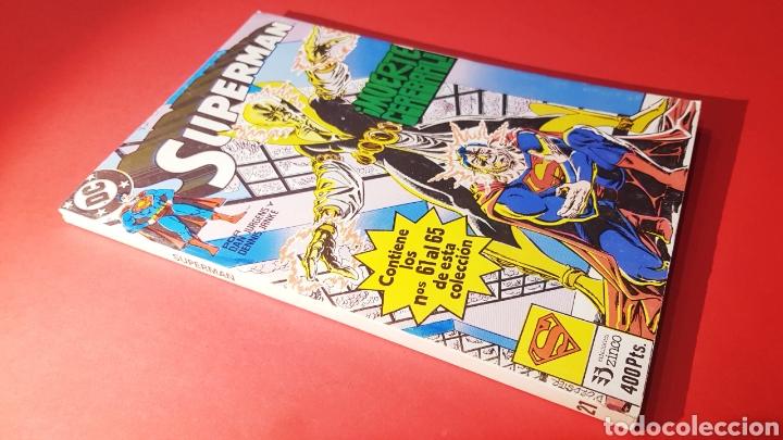 EXCELENTE ESTADO SUPERMAN 21 RETAPADO 61 AL 65 ZINCO DC COMICS (Tebeos y Comics - Zinco - Superman)