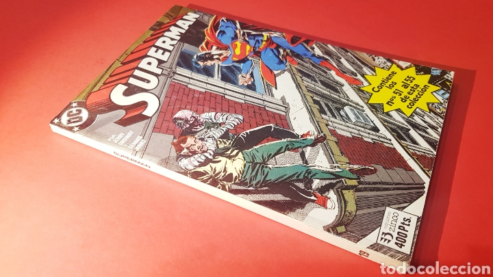 EXCELENTE ESTADO SUPERMAN 19 RETAPADO 51 AL 55 ZINCO DC COMICS (Tebeos y Comics - Zinco - Superman)