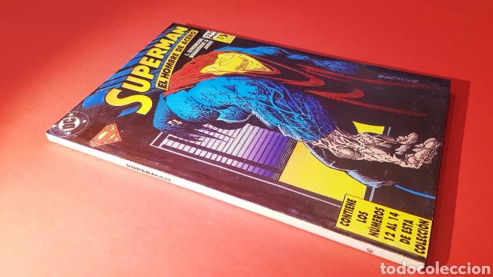 EXCELENTE ESTADO SUPERMAN 41 RETAPADO 12 AL 14 ZINCO DC COMICS (Tebeos y Comics - Zinco - Superman)