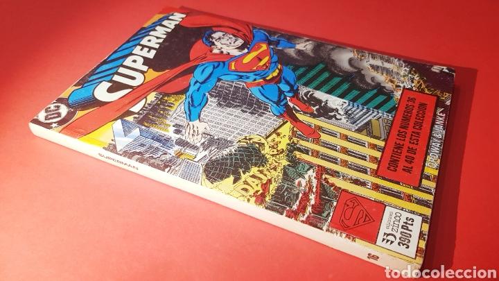 EXCELENTE ESTADO SUPERMAN 16 RETAPADO 36 AL 40 ZINCO DC COMICS (Tebeos y Comics - Zinco - Superman)