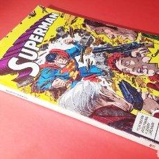 Cómics: CASI EXCELENTE ESTADO SUPERMAN 11 RETAPADO 11 AL 15 ZINCO DC COMICS. Lote 154618796