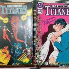 Cómics: COMPLETA - LOS NUEVOS TITANES VOL.2 # 1 AL 41 (ZINCO,1989-1992) - GEORGE PEREZ - TOM GRUMMETT. Lote 154761149