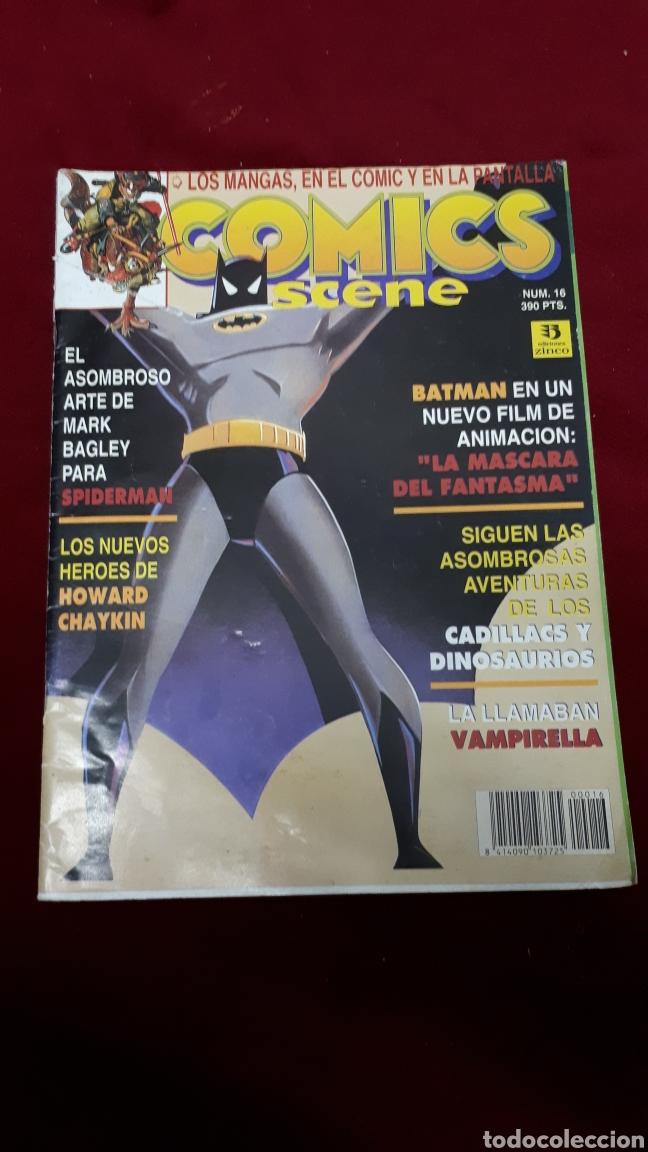 COMICS SCENE N°16. EDICIONES ZINCO (Tebeos y Comics - Zinco - Prestiges y Tomos)