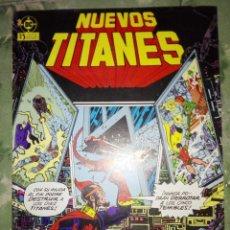 Cómics: NUEVOS TITANES VOL. 1 # 7. Lote 154835294