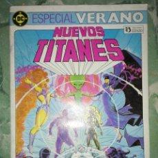 Cómics: NUEVOS TITANES ESPECIAL VERANO. Lote 154850058