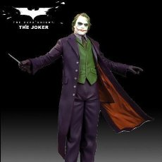 Cómics: ESTATUA JOKER - THE DARK KNIGHT - LIMITED EDITION (6000 PIEZAS). Lote 154906106