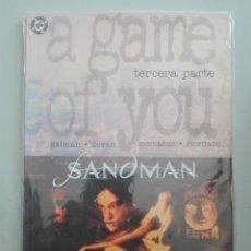 Cómics: SANDMAN A GAME OF YOU 3 #. Lote 154919810