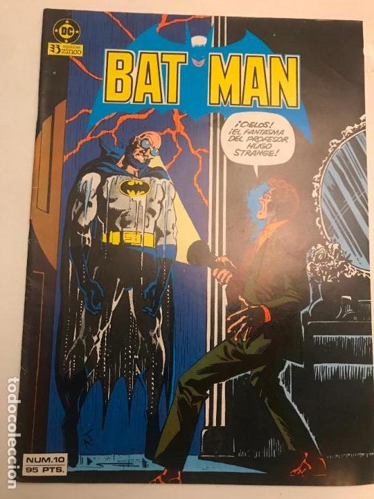 BATMAN V1 V 1 Nº 10. ZINCO 1984 (Tebeos y Comics - Zinco - Batman)