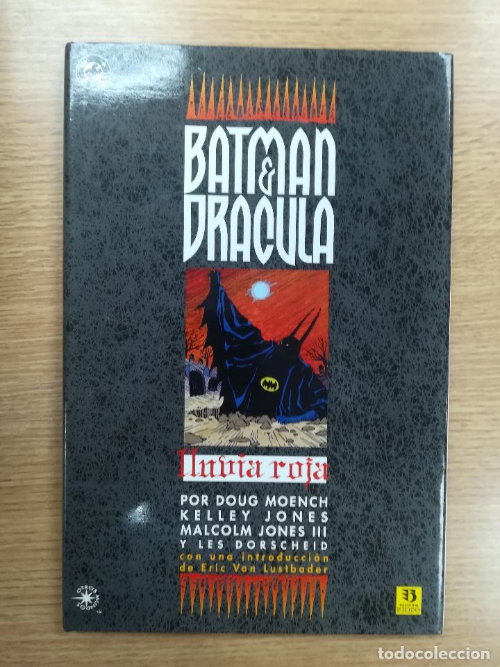 BATMAN DRACULA LLUVIA ROJA (Tebeos y Comics - Zinco - Batman)
