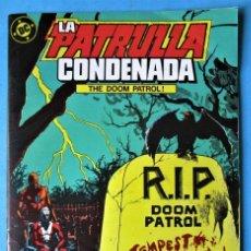 Cómics: LA PATRULLA CONDENADA (MINISERIE DE 7 EPISODIOS) Nº 5 - EDICIONES ZINCO 1988 ''BUEN ESTADO''. Lote 155036066