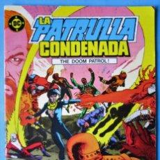Cómics: LA PATRULLA CONDENADA Nº 1 - EDICIONES ZINCO - 1987 ''BUEN ESTADO''. Lote 155036150