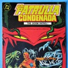 Cómics: LA PATRULLA CONDENADA Nº 2 - EDICIONES ZINCO - 1987 ''BUEN ESTADO''. Lote 155036166