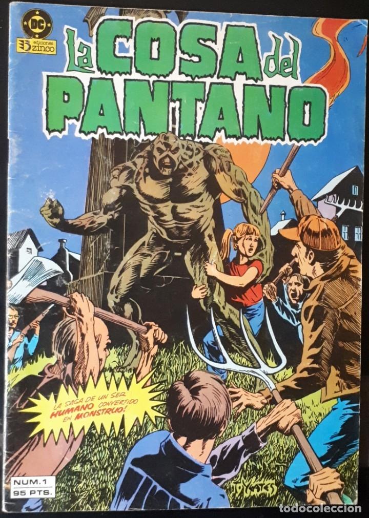 LA COSA DEL PANTANO - 1 ZINCO (Tebeos y Comics - Zinco - Cosa del Pantano)