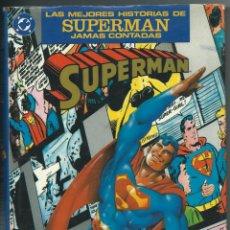 Comics: LAS MEJORES HISTORIAS DE SUPERMAN JAMAS CONTADAS. EDICIONES ZINCO. Lote 155168506