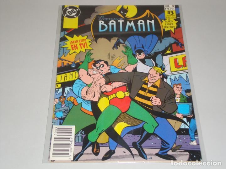 LAS AVENTURAS DE BATMAN 4 (Tebeos y Comics - Zinco - Batman)