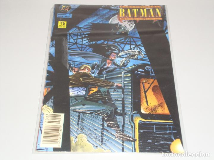LAS CRONICAS DE BATMAN 1 (Tebeos y Comics - Zinco - Batman)