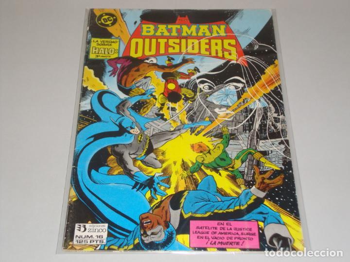 BATMAN OUTSIDERS 16 (Tebeos y Comics - Zinco - Batman)