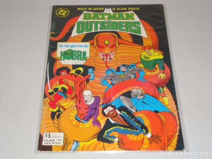BATMAN OUTSIDERS 19 (Tebeos y Comics - Zinco - Batman)