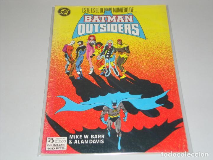 BATMAN OUTSIDERS 24 (Tebeos y Comics - Zinco - Batman)