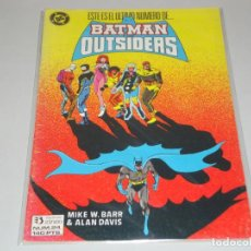 Cómics: BATMAN OUTSIDERS 24. Lote 155220086
