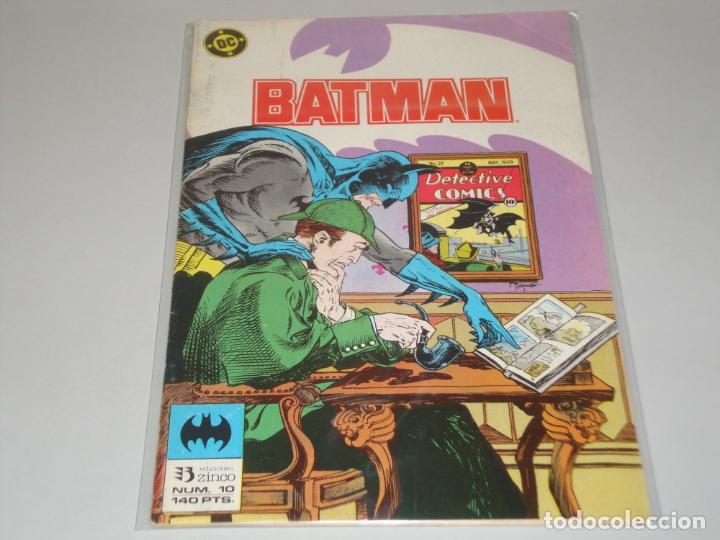BATMAN 10 (Tebeos y Comics - Zinco - Batman)