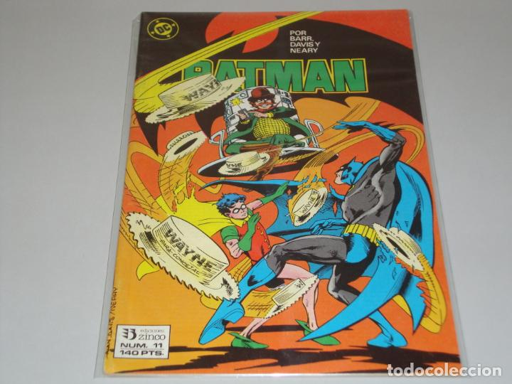 BATMAN 11 (Tebeos y Comics - Zinco - Batman)