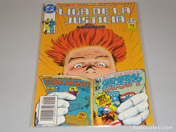 LIGA DE LA JUSTICIA 40 (Tebeos y Comics - Zinco - Liga de la Justicia)