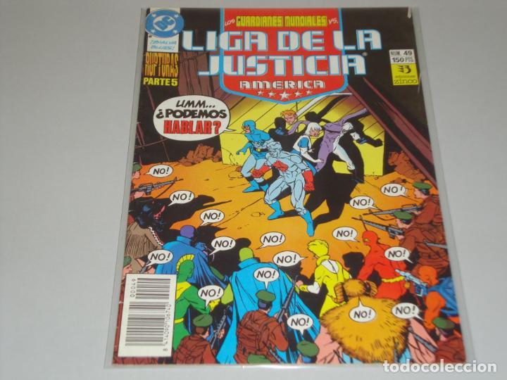 LIGA DE LA JUSTICIA 49 (Tebeos y Comics - Zinco - Liga de la Justicia)