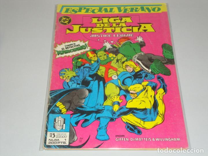 LIGA DE LA JUSTICIA ESPECIAL VERANO 1 (Tebeos y Comics - Zinco - Liga de la Justicia)
