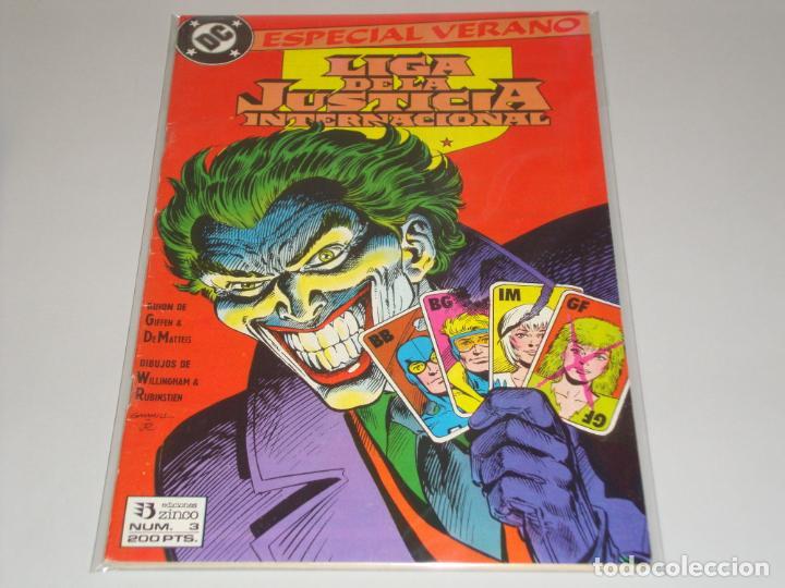 LIGA DE LA JUSTICIA ESPECIAL VERANO 3 (Tebeos y Comics - Zinco - Liga de la Justicia)
