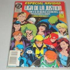 Cómics: LIGA DE LA JUSTICIA INTERNACIONAL 1 ESPECIAL NAVIDAD. Lote 155227106