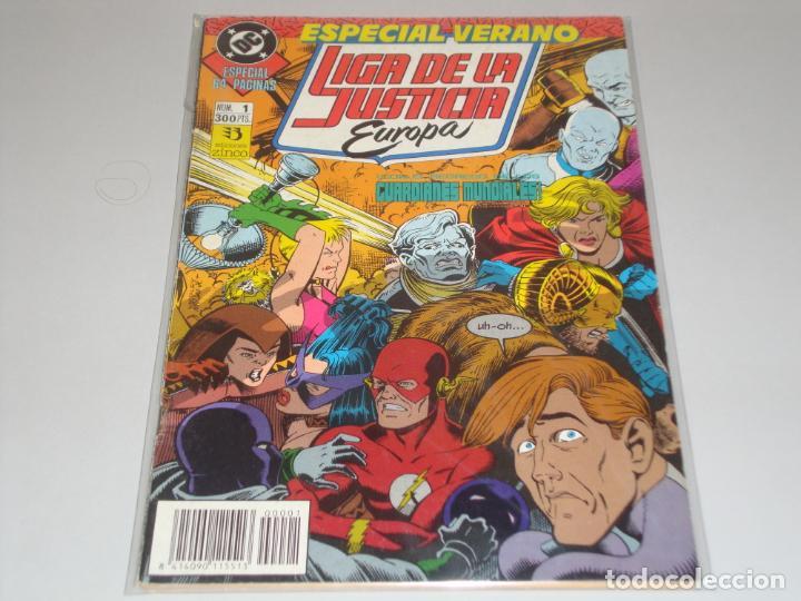 LIGA DE LA JUSTICIA EUROPA ESPECIAL VERANO 1 (Tebeos y Comics - Zinco - Liga de la Justicia)