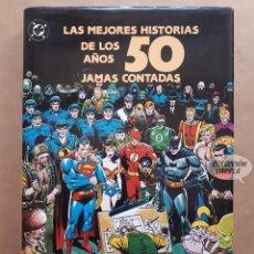 Cómics: LAS MEJORES HISTORIAS DE LOS AÑOS 50 JAMÁS CONTADAS - CARTONÉ CON SOBRECUBIERTAS - ZINCO - JMV. Lote 155266298