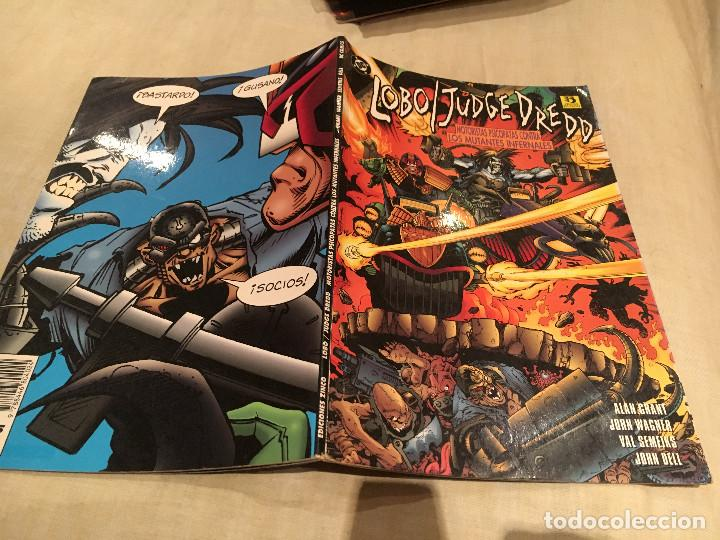 LOBO / JUDGE DREDD - DC COMICS - GRANT, WAGNER, SEMEIKS & DELL - AÑO 1996 (Comics und Tebeos - Zinco - Lobo)