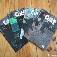 Cómics: BATMAN THE CULT COMPLETA - 1 2 3 Y 4 - JIM STARLIN & BERNIE WRIGHTSON - IMPECABLES D40. Lote 155362766