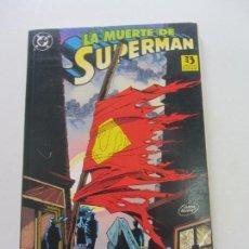 Cómics: LA MUERTE DE SUPERMAN. EL FÍN DE UNA LEYENDA. EDICIONES ZINCO CX10. Lote 155430806